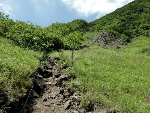八ヶ岳・阿弥陀岳(南沢~中岳のコル) 登山口コースガイド 迂回路【登山口ナビ】