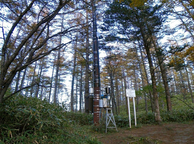 日向山(矢立石~錦滝周回)登山口コースガイド 雨量観測所【登山口ナビ】