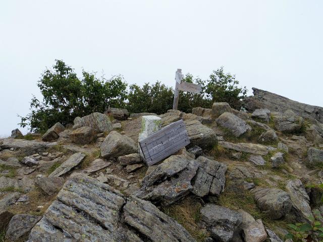鳳凰三山(広河原~白鳳峠・高嶺)登山口コースガイド 高嶺山頂【登山口ナビ】