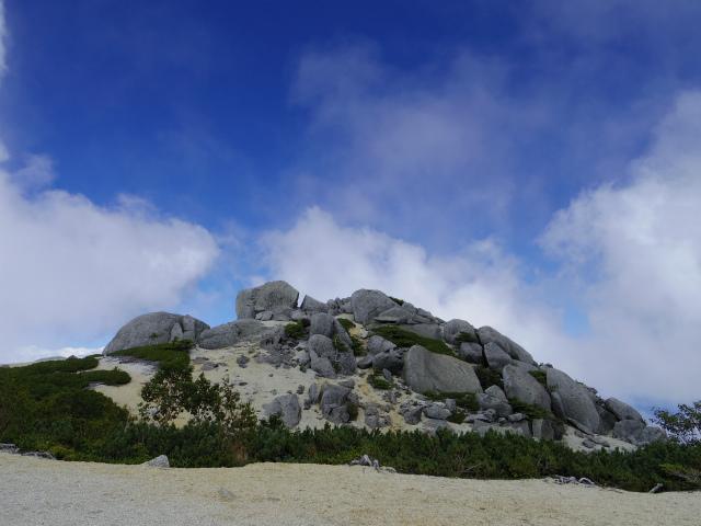 鳳凰三山(夜叉神峠~砂払岳)登山口コースガイド 薬師岳山頂【登山口ナビ】