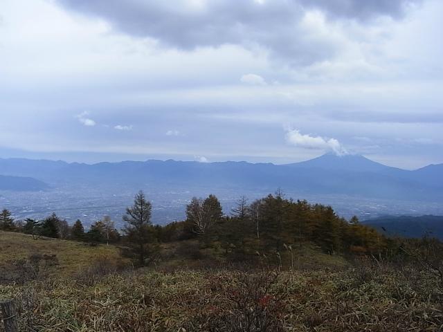 辻山(甘利山~千頭星山)登山口コースガイド 甘利山からの甲府盆地と富士山【登山口ナビ】