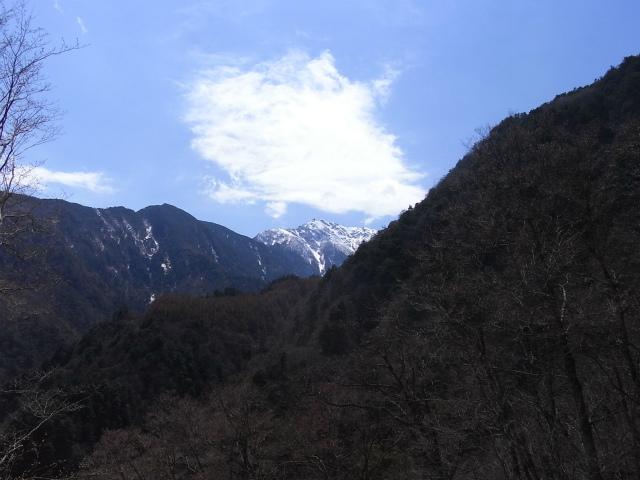 日向山(矢立石~錦滝周回)登山口コースガイド 尾白川林道からの甲斐駒ケ岳【登山口ナビ】
