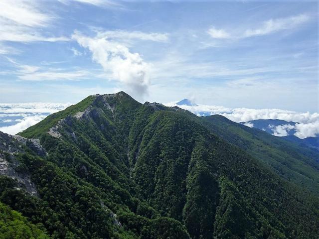 鳳凰三山(広河原~白鳳峠・高嶺)登山口コースガイド