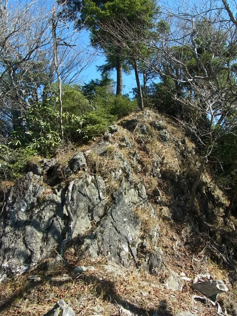 笠取山~唐松尾山~御殿岩 登山口コースガイド 御殿岩へのバリエーションルート【登山口ナビ】