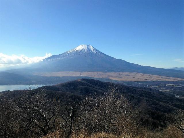 石割山(石割神社) 登山口コースガイド 石割山山頂からの富士山【登山口ナビ】