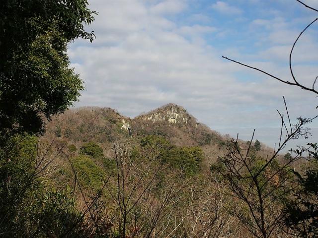高宕山(石射太郎コース)登山口コースガイド 石射太郎山の眺め【登山口ナビ】