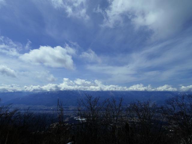 茅ヶ岳(深田記念公園~女岩コース) 登山口コースガイド 茅ヶ岳山頂からの南アルプス・鳳凰三山の眺望【登山口ナビ】