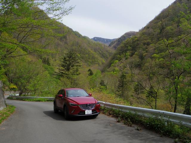 【登山の車選び】マツダ・CX-3 XDプロアクティブ 米子不動林道【登山口ナビ】
