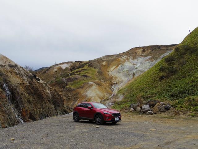 【登山の車選び】マツダ・CX-3 XDプロアクティブ 万座温泉 草津白根山 旧火口【登山口ナビ】