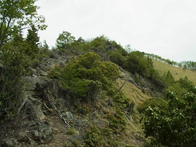 和名倉山(三ノ瀬~東仙波)登山口コースガイド 西仙波と東仙波の中間ピーク【登山口ナビ】