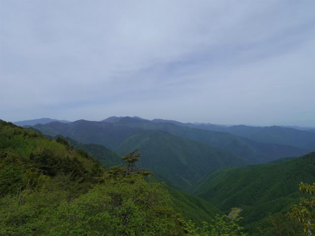 和名倉山(三ノ瀬~東仙波)登山口コースガイド 西仙波と東仙波の中間ピークから甲武信ヶ岳の展望【登山口ナビ】