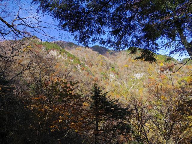 両神山(日向大谷・表参道ルート) 登山口コースガイド 産泰尾根からの稜線【登山口ナビ】