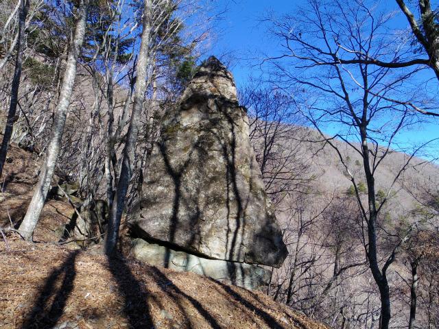 三ツ峠山(本社ヶ丸~清八山) からかさ岩【登山口コースガイド】