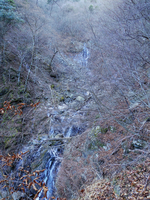 三ツ峠山(北口登山道)登山口コースガイド 大滝【登山口コースガイド】