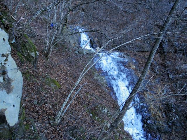 三ツ峠山(北口登山道)登山口コースガイド 三段の滝【登山口コースガイド】