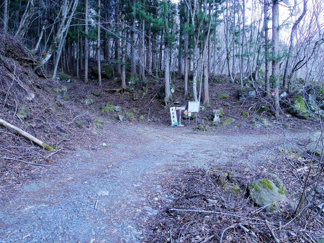 三ツ峠山(北口登山道)登山口コースガイド 登山道入口【登山口コースガイド】