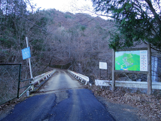 三ツ峠山(北口登山道)登山口コースガイド けいごや橋【登山口コースガイド】