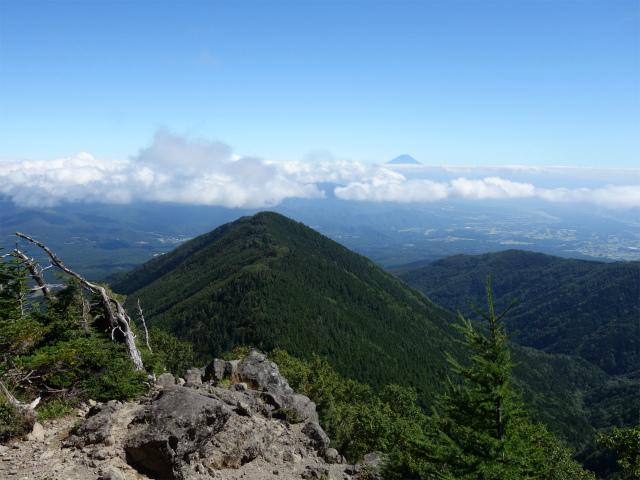 八ヶ岳・赤岳(真教寺尾根) 登山口コースガイド 露岩から牛首山の展望【登山口ナビ】