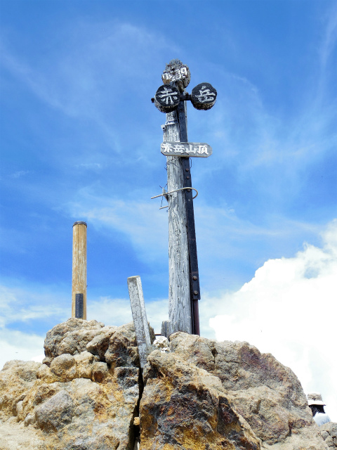 赤岳(八ヶ岳)・県界尾根 登山口コースガイド 山頂【登山口ナビ】