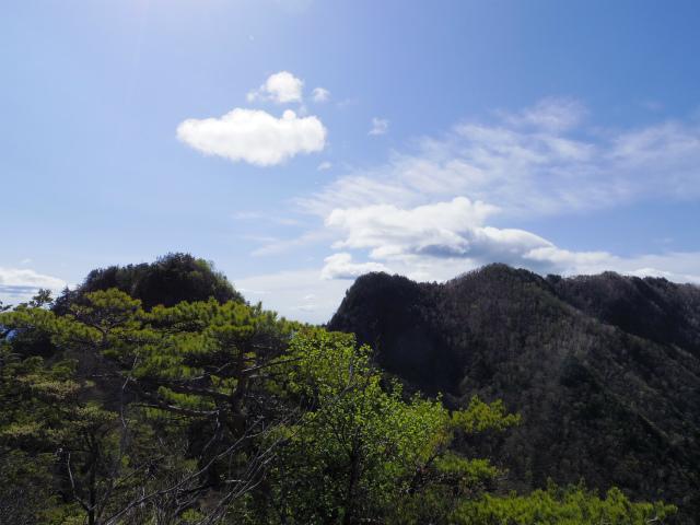 両神山(八丁峠コース) 登山口コースガイド 両神山稜線【登山口ナビ】