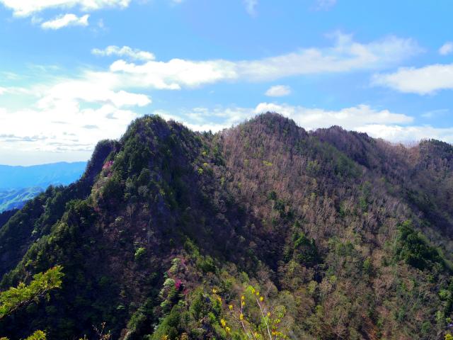 両神山(八丁峠コース) 登山口コースガイド 東岳・前東岳【登山口ナビ】