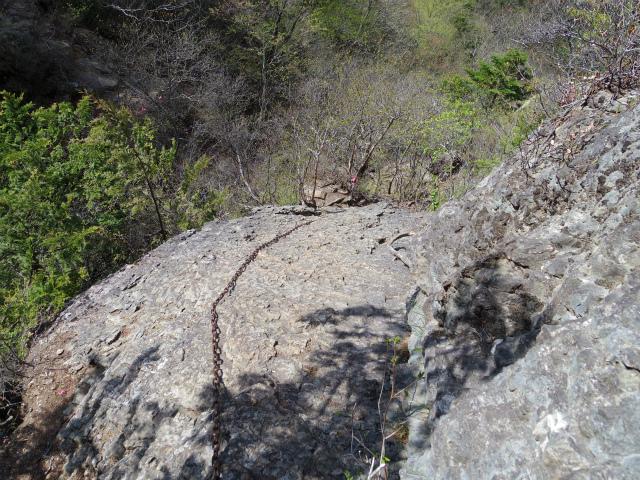 両神山(八丁峠コース) 登山口コースガイド 西岳鎖場【登山口ナビ】