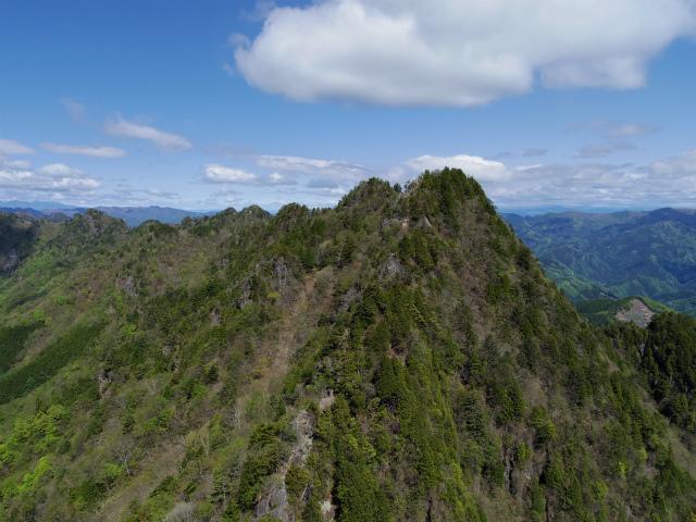 両神山(八丁峠コース) 登山口コースガイド 西岳【登山口ナビ】