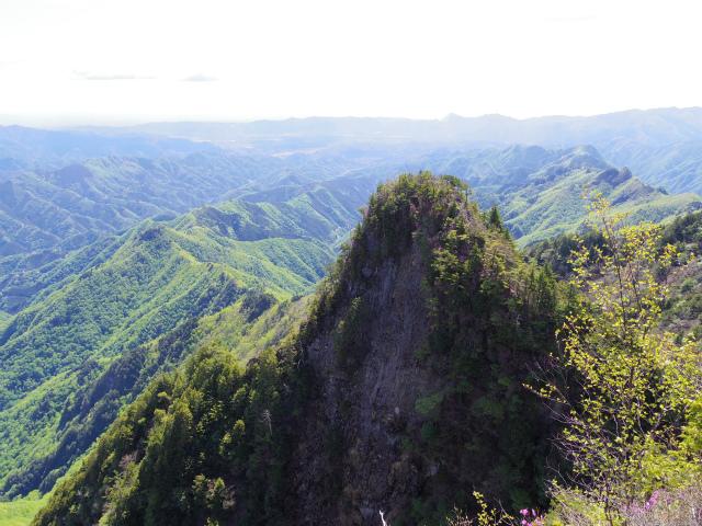 両神山(八丁峠コース) 登山口コースガイド 天武将尾根【登山口ナビ】