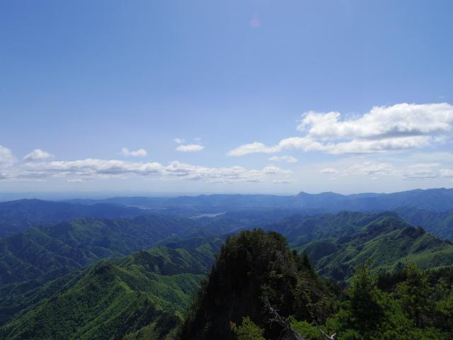 両神山(八丁峠コース) 登山口コースガイド 東岳山頂【登山口ナビ】