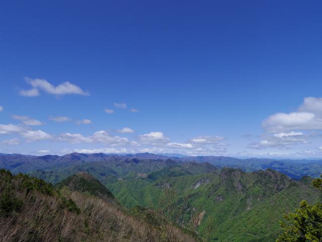 両神山(八丁峠コース) 登山口コースガイド 剣ヶ峰山頂 展望【登山口ナビ】
