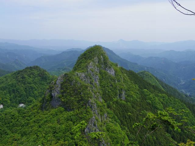 西上州・二子山(東岳・西岳) 登山口コースガイド 上級者コース【登山口ナビ】