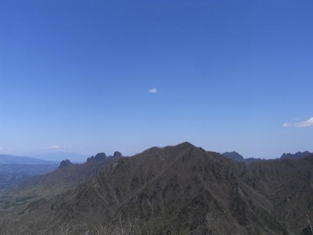 高岩・雄岳 登山口コースガイド 山頂からの展望 妙義山【登山口ナビ】
