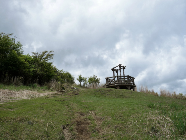 越前岳(十里木高原ルート) 登山口コースガイド 展望台【登山口ナビ】