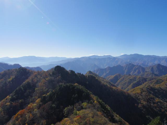 大ナゲシ(赤岩峠経由) 登山口コースガイド 山頂からの眺望【登山口ナビ】