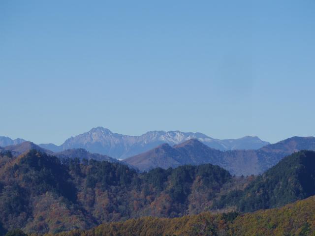 大ナゲシ(赤岩峠経由) 登山口コースガイド 山頂からの八ヶ岳【登山口ナビ】