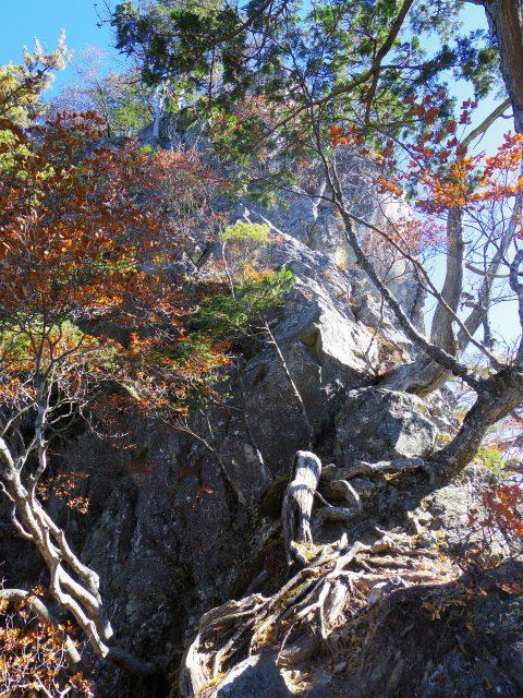 赤岩岳(赤岩尾根) 登山口コースガイド 前衛峰【登山口ナビ】