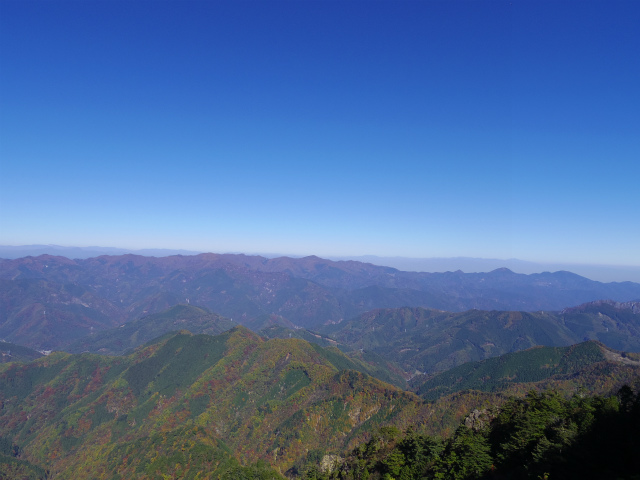 赤岩岳(赤岩尾根) 登山口コースガイド 前衛峰からの展望【登山口ナビ】
