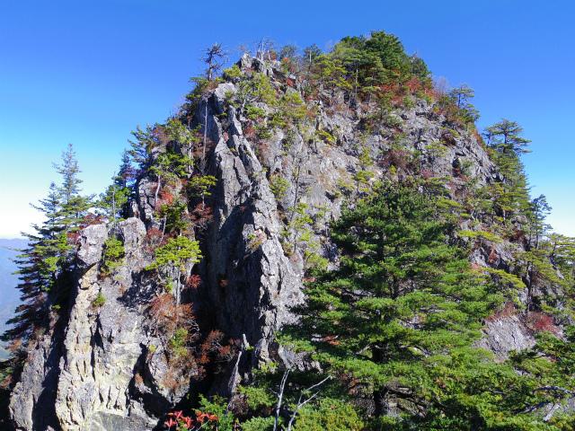 赤岩岳(赤岩尾根) 登山口コースガイド 1583m峰【登山口ナビ】