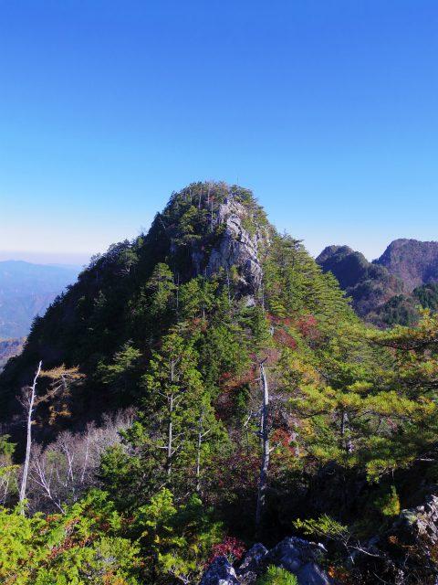 赤岩岳(赤岩尾根) 登山口コースガイド P1峰【登山口ナビ】