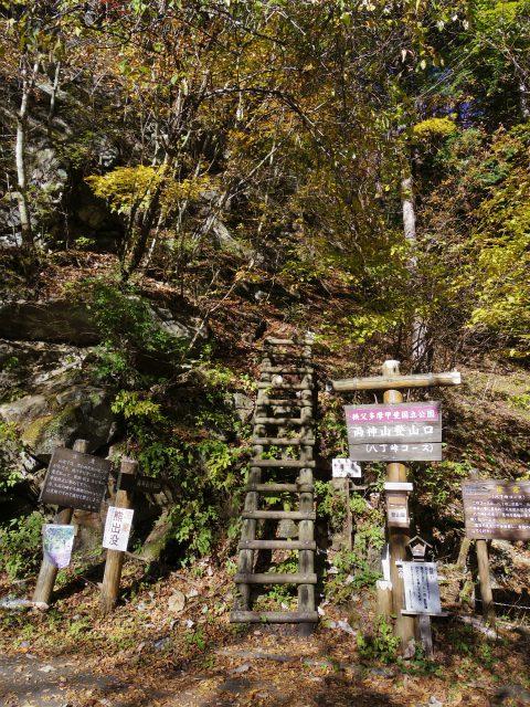 赤岩岳(赤岩尾根) 登山口コースガイド 上落合橋八丁峠コース【登山口ナビ】