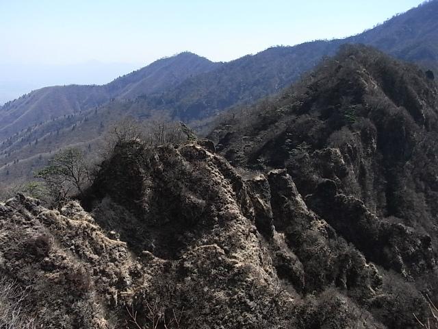 越前岳~位牌岳(愛鷹山神社口周回) 登山口コースガイド 鋸岳【登山口ナビ】