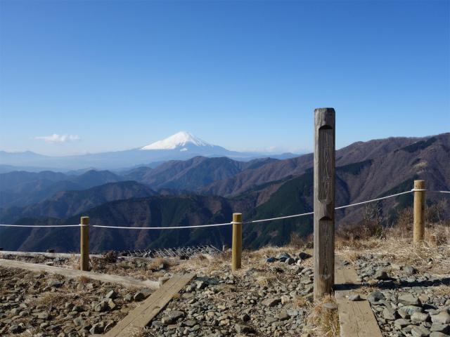 三ノ塔(二ノ塔尾根)登山口コースガイド 三ノ塔山頂【登山口ナビ】