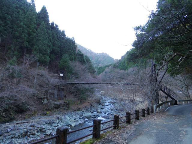 塔ノ岳(長尾尾根) 登山口コースガイド 本谷吊橋【登山口ナビ】