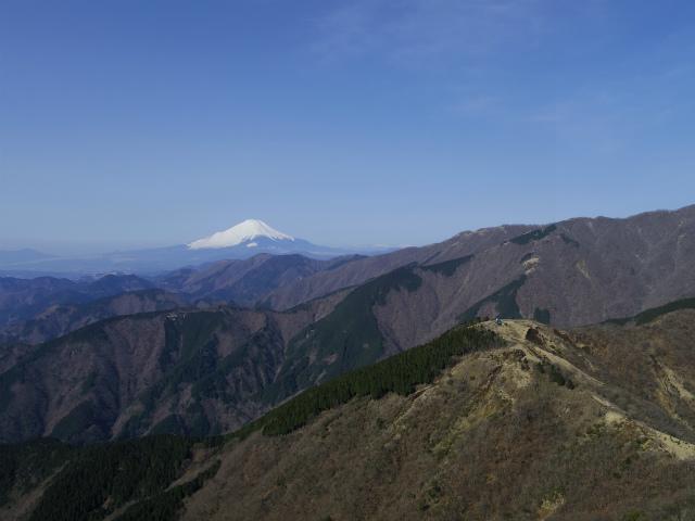 塔ノ岳(丹沢表尾根) 登山口コースガイド 烏尾山【登山口ナビ】