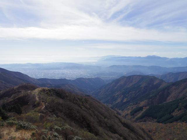 塔ノ岳(丹沢表尾根) 登山口コースガイド 相模湾眺望【登山口ナビ】