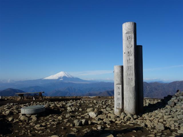 塔ノ岳(丹沢表尾根) 登山口コースガイド 塔ノ岳山頂【登山口ナビ】