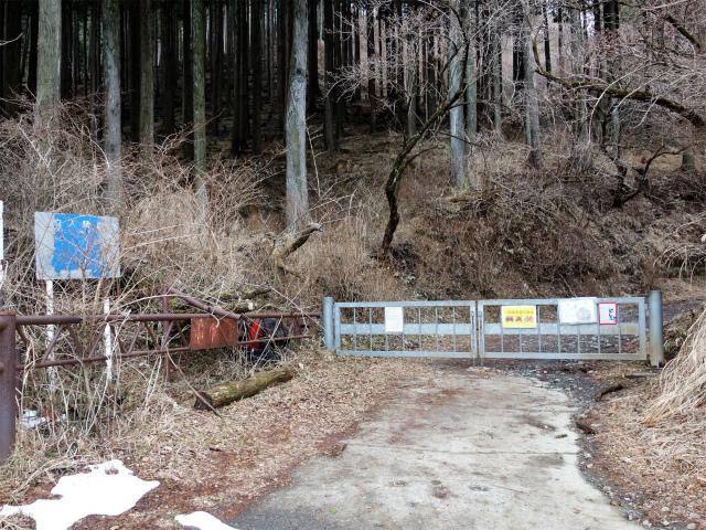 塔ノ岳(丹沢表尾根) 登山口コースガイド 林道ゲート【登山口ナビ】