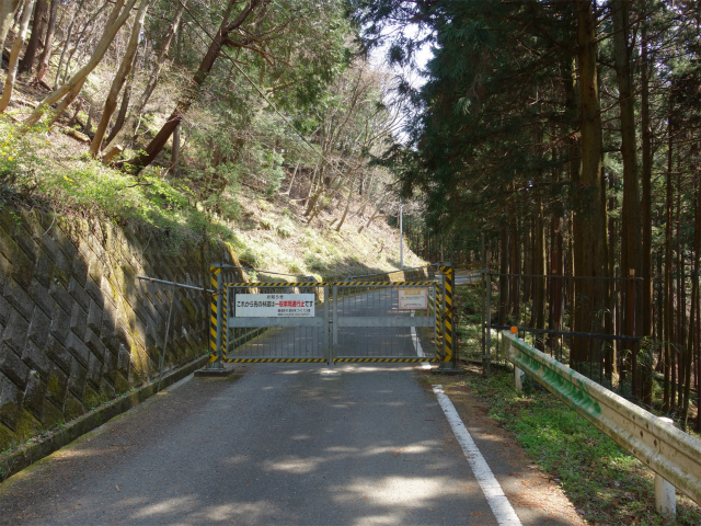 三ノ塔(二ノ塔尾根)登山口コースガイド 桜沢林道ゲート【登山口ナビ】
