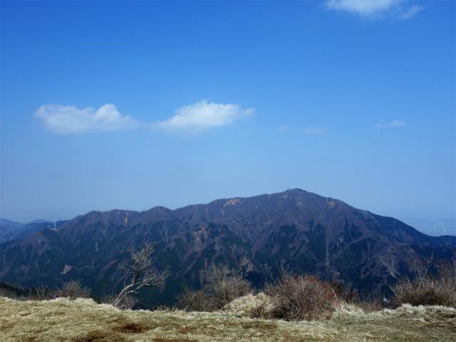 三ノ塔(二ノ塔尾根)登山口コースガイド 三ノ塔山頂からの大山【登山口ナビ】
