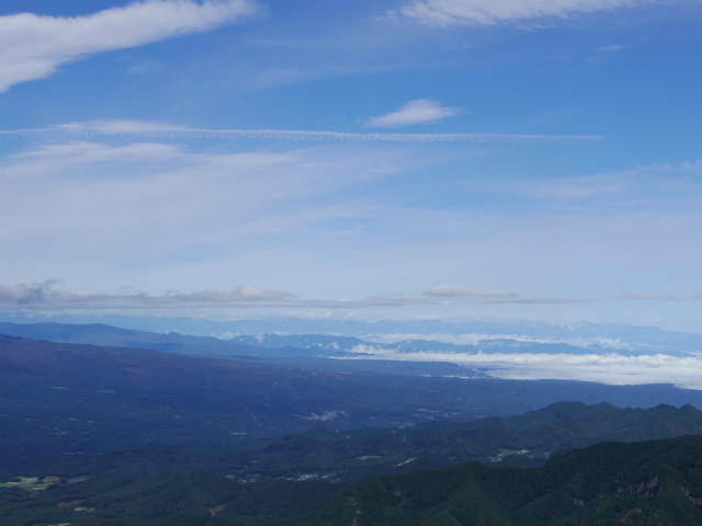 御座山(栗生コース) 登山口コースガイド 山頂からの展望 北アルプス【登山口ナビ】